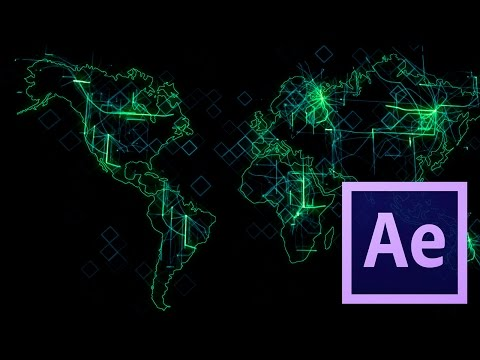 Tutorial Mapa Digital (Grid) - After Effects