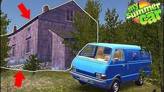 Едем в ЗАБРОШКУ ЗА КОЛЕСАМИ - My Summer Car