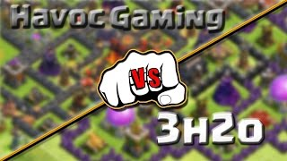 Clash of Clans - Base vs Base Ep.13 (ft 3H2O) TH7 Southern teaser Edition!