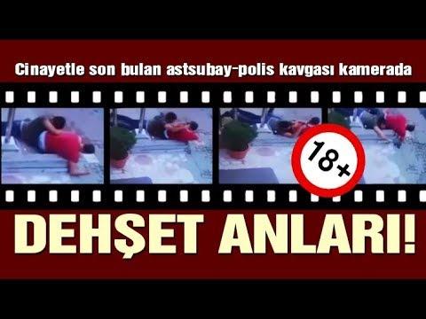SON DAKİKA! Polisle astsubay arasındaki silahlı çatışmanın kamera görüntüleri çıktı!