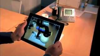 SolidWorks eDrawings iPad'te Artırılmış Gerçeklik