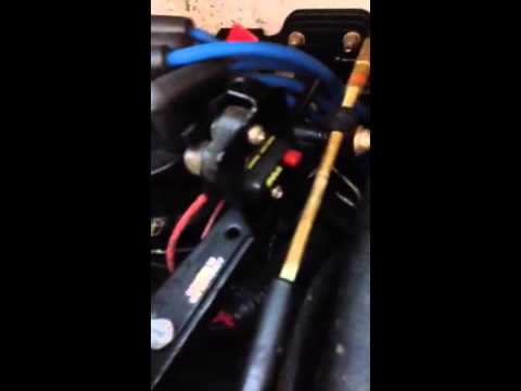 Boat won't start but blower and bilge work blown fuse