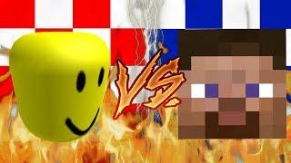 Roblox Player VS Masked Steve (YTPMV)