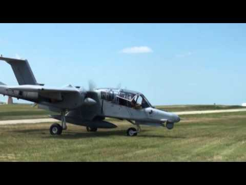 OV-10 come to Founders Day May 2014
