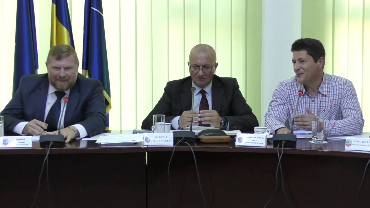 Ședință Consiliul Local Câmpia Turzii (24.10.2019)