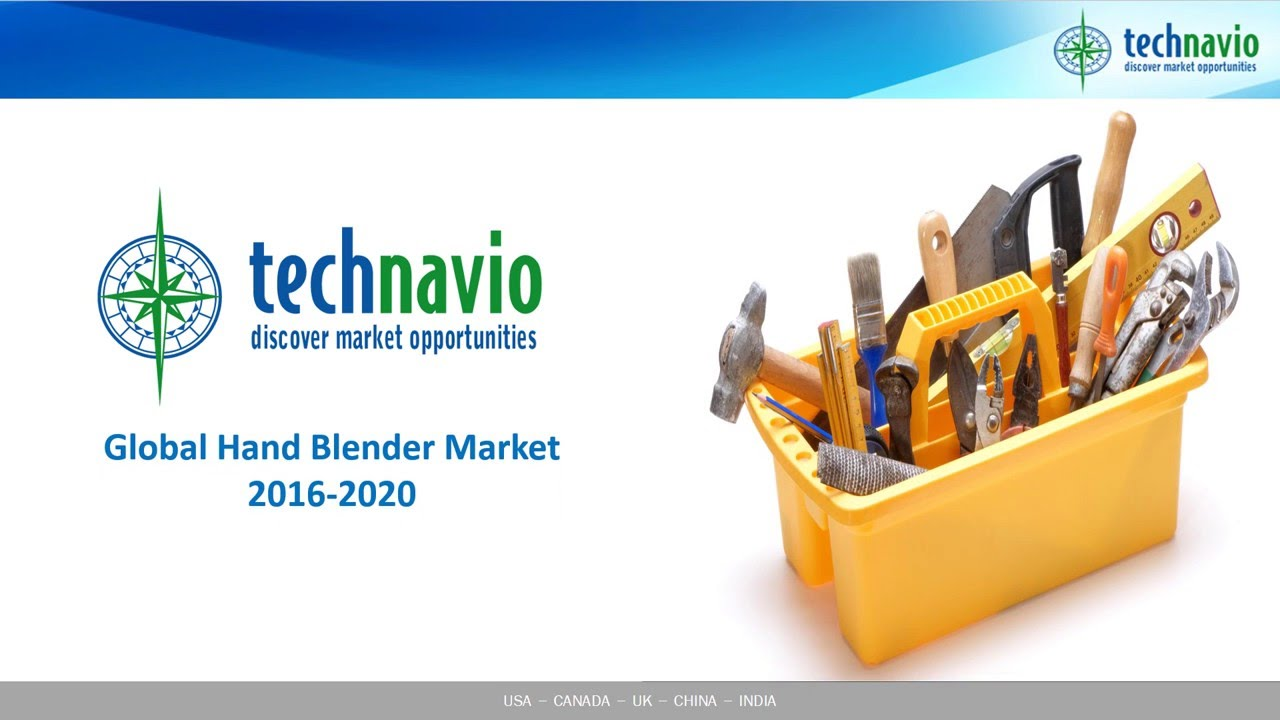 global hand blender market Global hand blenders market research report 2018 contains historic data that spans 2013 to 2016, and then continues to forecast to 2025 that makes this report so invaluable, resources, for the leaders as well as the new entrants in the industry.