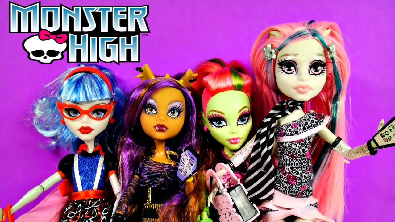 Monster High Dolls Ghoul S Night Out Barbie Style Doll Review By