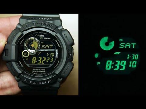 Buy casio g-shock mudman solar compass alarm g-9300-1 g9300 buy.