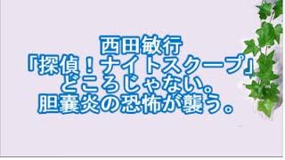 西田敏行、「探偵!ナイトスクープ」どころじゃない。胆嚢炎の恐怖が襲...