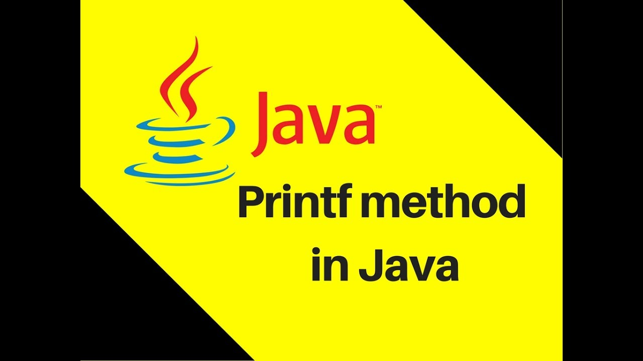 4.2 How to use Printf method in Java