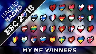 Eurovision 2018 | My National Final Winners
