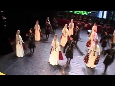 Ossetian dance Simd - Ens. Alan