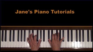 O Canada National Anthem Piano Tutorial SLOW