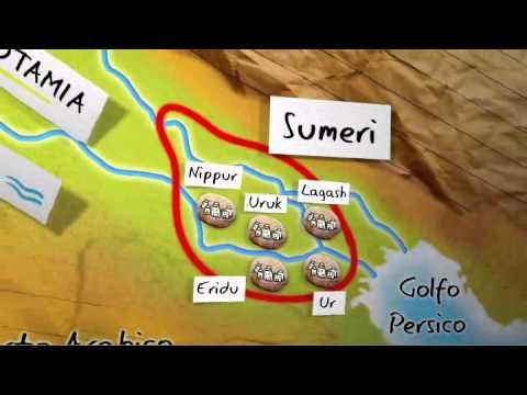 Storia - La Mesopotamia (scuola elementare)