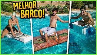 QUEM FAZ O MELHOR BARCO COM ITENS SÓ DA CASA ( GANHA 5000 R$ ) [ REZENDE EVIL ]