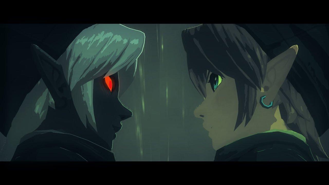 Zelda Botw Fan Fiction Link Vs Dark Link
