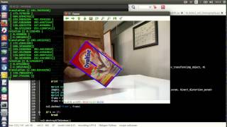 3  Object Tracking and Attitude / Pose Estimation Using Homography + PnP  (OpenCV + Python) by Kukuh N