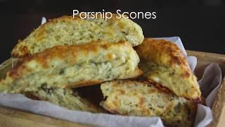 Parsnip Scones
