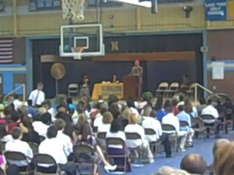 NorWayne Middle School(Fremont,NC) 8th grade Awards presentation(2009)