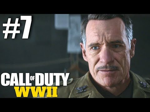 Call of Duty: WWII Campaign - Part 7 - Death Factory!  (Hurtgen Forest, Germany)