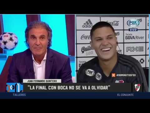 ENTREVISTA completa a Juanfer QUINTERO en 90 minutos FOX