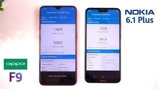 Oppo F9 vs Nokia 6.1 Plus Speed Test & Comparison [Urdu/Hindi]