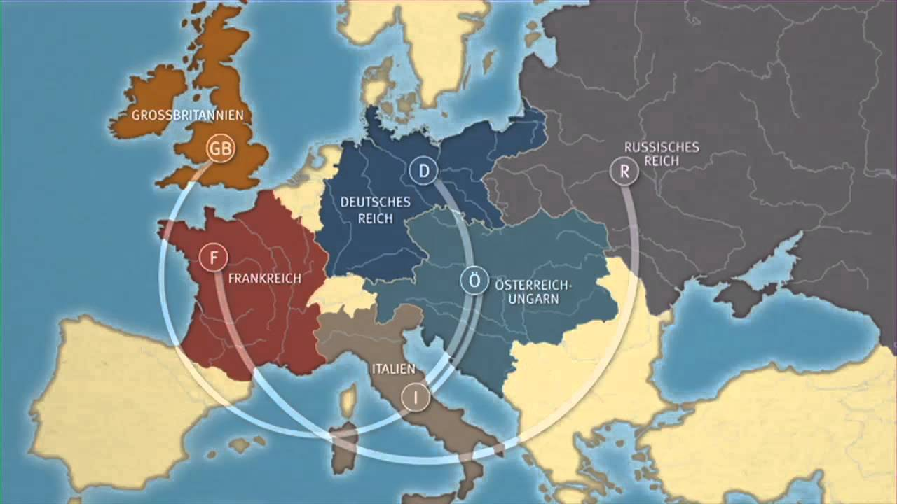 Deutsche Karte Vor Dem 1 Weltkrieg.Unterrichtsmaterial Der Erste Weltkrieg Imperialismus Und Bundnissysteme