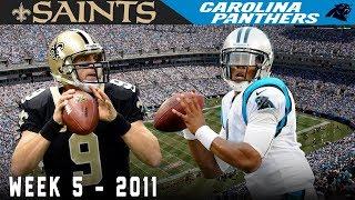 The Rookie Duels the Vet! (Saints vs. Panthers, 2011) | NFL Vault Highlights