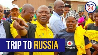 RUSSIA TRIP: Im back says David Mabuza; paid for own trip to get medical treatment