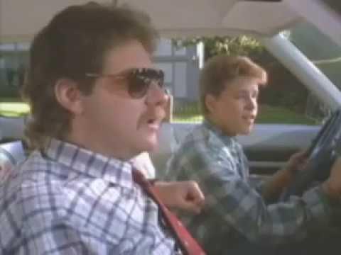 license to drive -les borrows the car