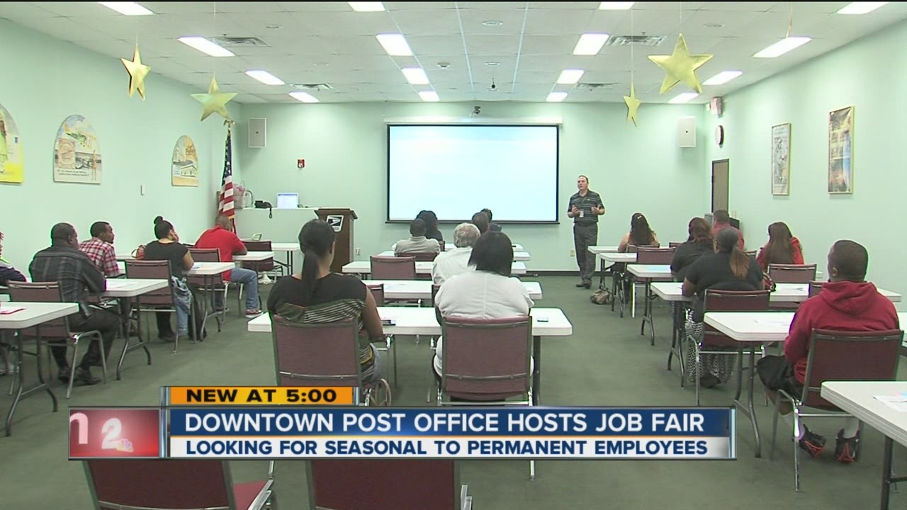 USPS Job Fair - YouTube