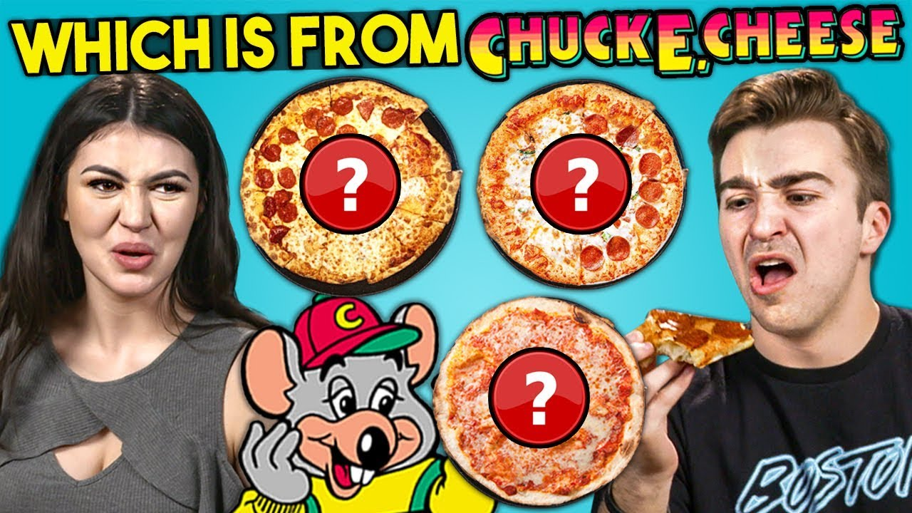 Guess Which Pizza Is A Chuck E. Cheese Pizza Challenge | People Vs. Food