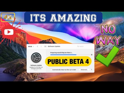 macOS 11 Big Sur Public Beta 4 Update - It's Amazing !! What's Changed