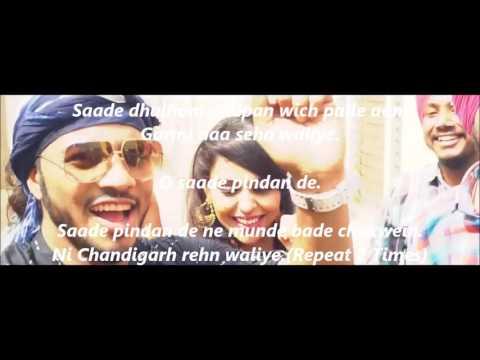 Latest punjabi song ,chandigrah rehn waliye ( lyric video )