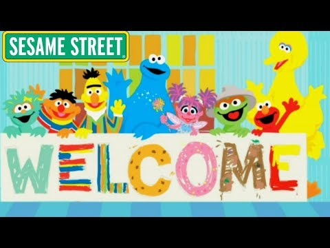 Sesame Street Episode Game Words Are Here There And Everywhere Word Play All Stories