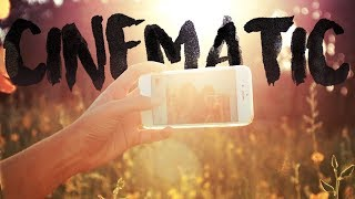 How to make iPHONE video footage CINEMATIC FOR FREE!
