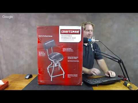 Assembling a Craftsman Adjustable Hydraulic Seat / Hangout