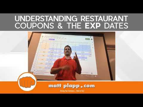 Understanding Restaurant Coupons & The EXP Dates