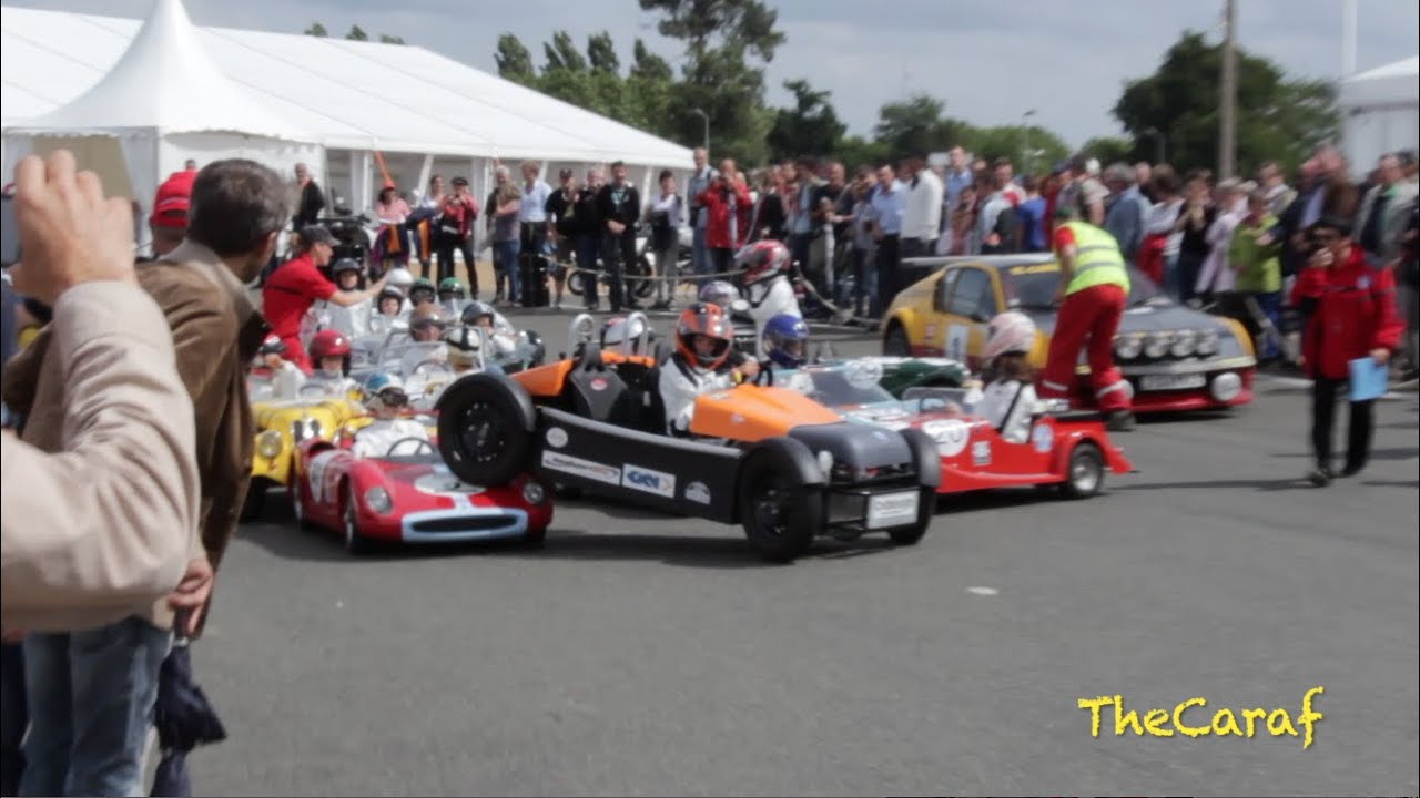 Crash Kids Cars Little Big Mans Le Mans Classic 2014 Youtube