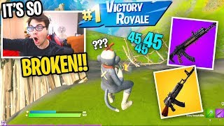 I can only win with the *NEW* HEAVY AR in Fortnite... (it's so BROKEN)