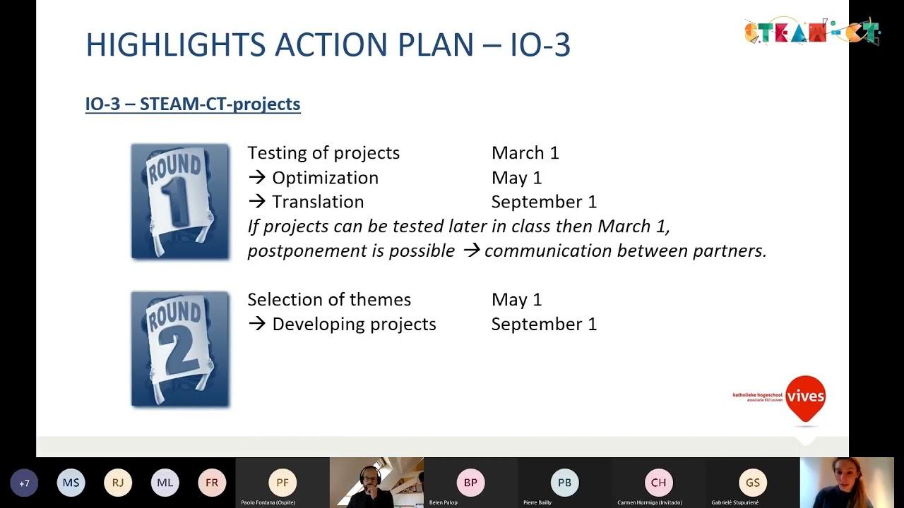Online meeting video
