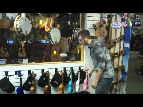 A quick introduction to the Ukulele Department at Groth Music
