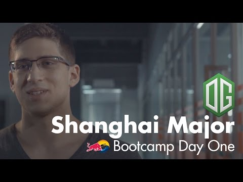 The Arrival | OG Shanghai Major Bootcamp Day 1