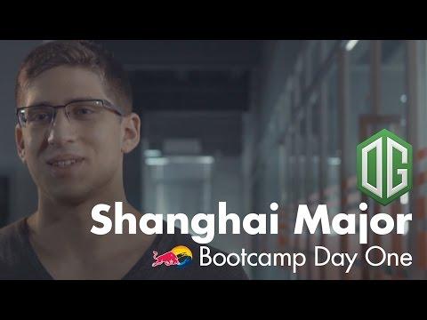 The Arrival   OG Shanghai Major Bootcamp Day 1