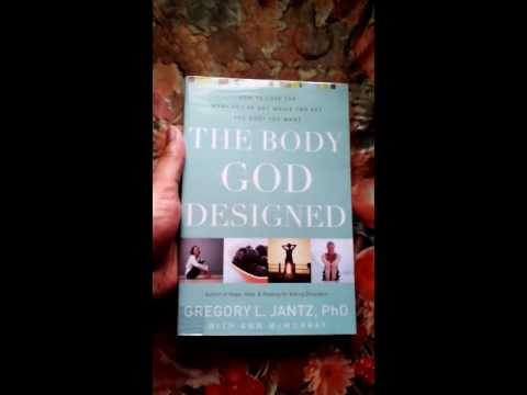 "The 1st FITNESS book I ♡d reading - ""The Body GOD Designed"" by Gregory L. Jantz, PhD"