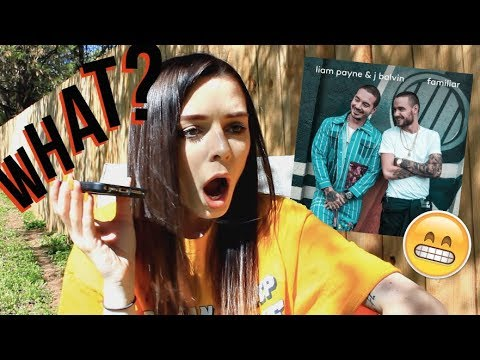 LIAM PAYNE AND J BALVIN FAMILIAR REACTION