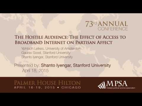 The Hostile Audience: The Effect of Access to Broadband Internet on Partisan Affect