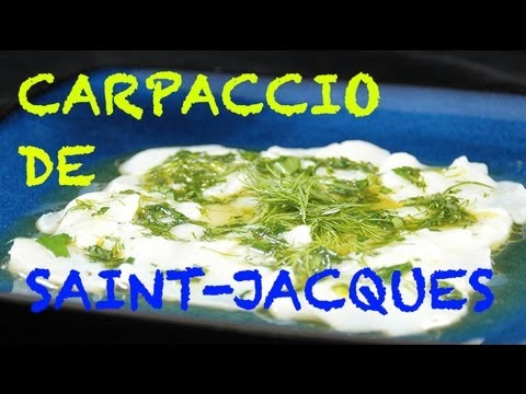 Carpaccio de Saint-Jacques