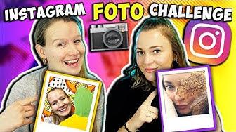 INSTAGRAM FOTO CHALLENGE mit Bianca & Kathi   Wer macht in 5 Minuten die coolsten Selfies?