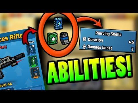 Secret Abilities With MODULES In Pixel Gun 3D! (16.2.0)